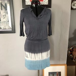 Tie dyed cotton dress
